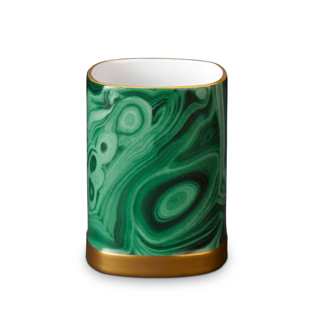 Malachite Pencil Cup
