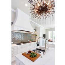 Fen Chandelier, Small - Kitchen