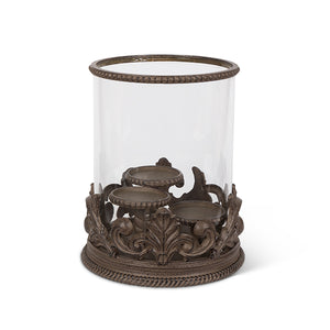 "Acnths Triple 3"" Candle Holder"