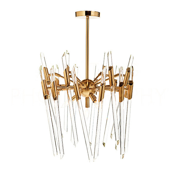 Themyscira Chandelier- Brass