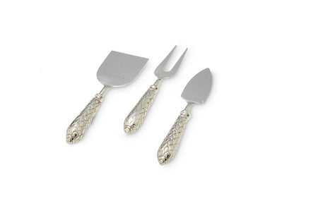 Florentine Silver Cheese Serving Set