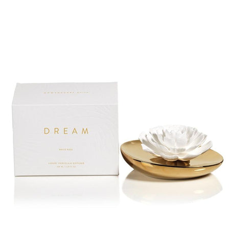 Dream Porcelain Flower Diffuser White Rose