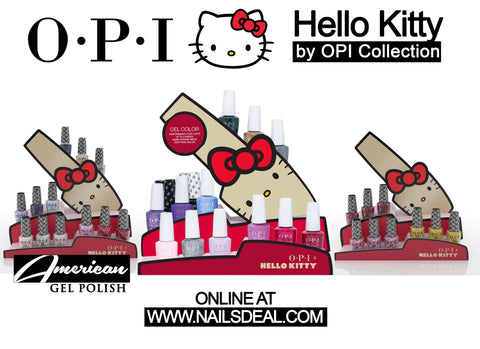 OPI Hello Kitty Collection Holiday 2019