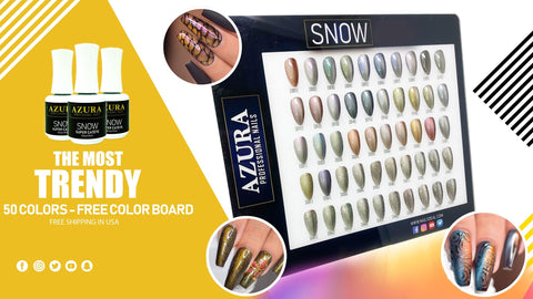 AZURA - SNOW Gel Collection (50 colors)