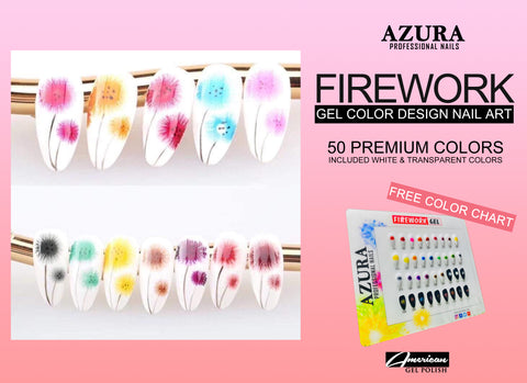 AZURA FIREWORK Nail Art Collection