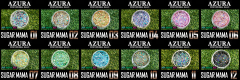 AZURA - Sugar Mama Nail Art Design