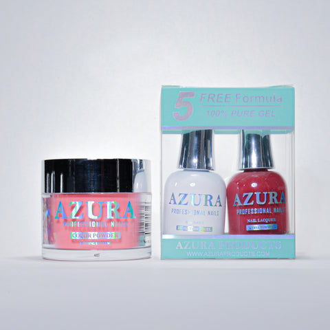 AZURA 3in1 - Gel Lacquer (0.5oz/15ml) & Dip Powder (2oz) - #001