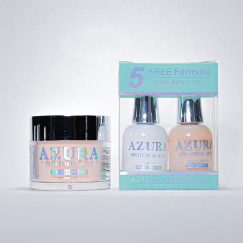 AZURA 3in1 - Gel Lacquer (0.5oz/15ml) & Dip Powder (2oz) - #002