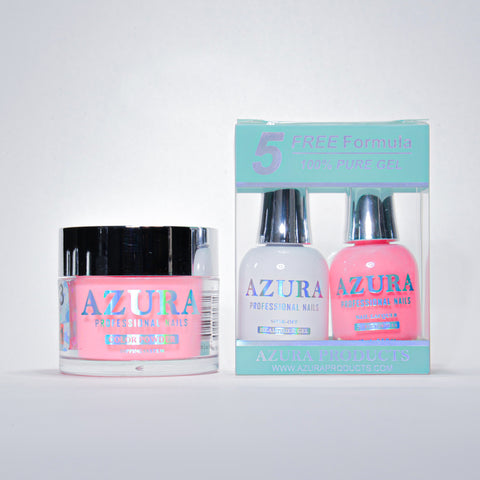 AZURA 3in1 - Gel Lacquer (0.5oz/15ml) & Dip Powder (2oz) - #003