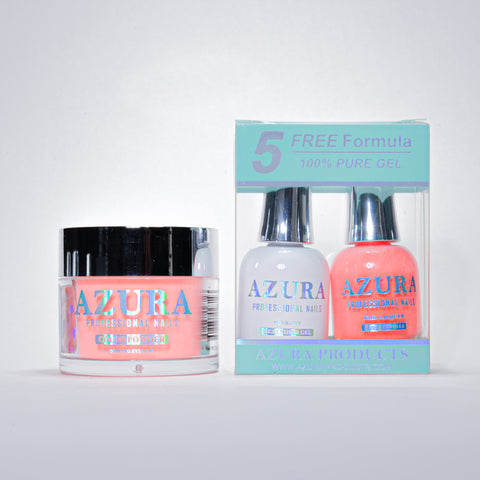 AZURA 3in1 - Gel Lacquer (0.5oz/15ml) & Dip Powder (2oz) - #004