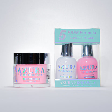 AZURA 3in1 - Gel Lacquer (0.5oz/15ml) & Dip Powder (2oz) - #007