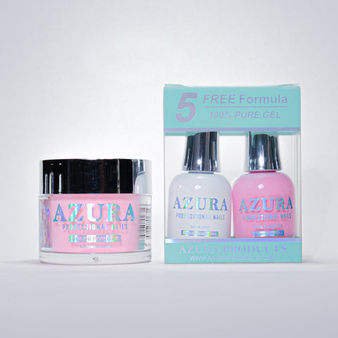 AZURA 3in1 - Gel Lacquer (0.5oz/15ml) & Dip Powder (2oz) - #010
