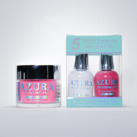 AZURA 3in1 - Gel Lacquer (0.5oz/15ml) & Dip Powder (2oz) - #015