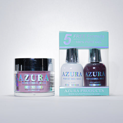AZURA 3in1 - Gel Lacquer (0.5oz/15ml) & Dip Powder (2oz) - #027