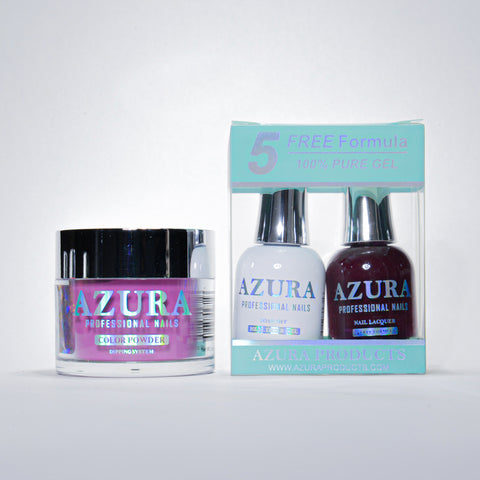 AZURA 3in1 - Gel Lacquer (0.5oz/15ml) & Dip Powder (2oz) - #028