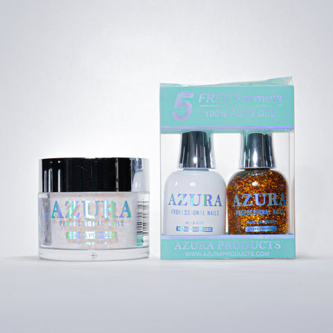 AZURA 3in1 - Gel Lacquer (0.5oz/15ml) & Dip Powder (2oz) - #033