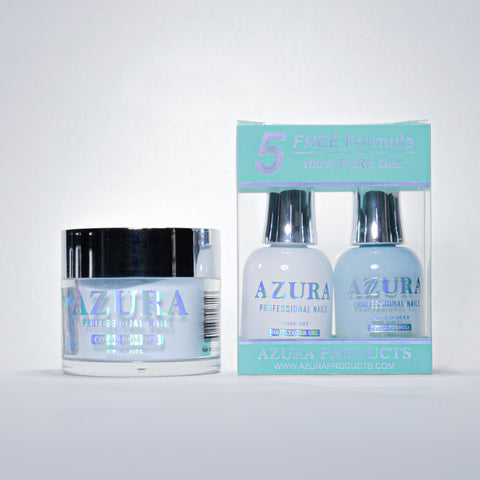 AZURA 3in1 - Gel Lacquer (0.5oz/15ml) & Dip Powder (2oz) - #040