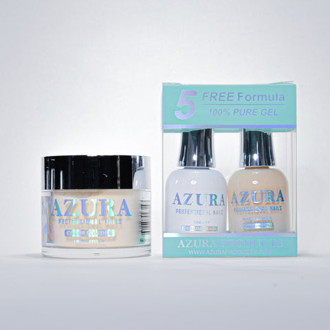AZURA 3in1 - Gel Lacquer (0.5oz/15ml) & Dip Powder (2oz) - #041