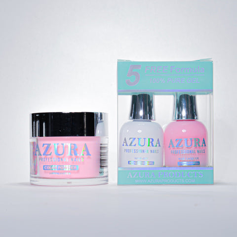 AZURA 3in1 - Gel Lacquer (0.5oz/15ml) & Dip Powder (2oz) - #042