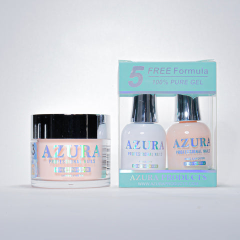 AZURA 3in1 - Gel Lacquer (0.5oz/15ml) & Dip Powder (2oz) - #043