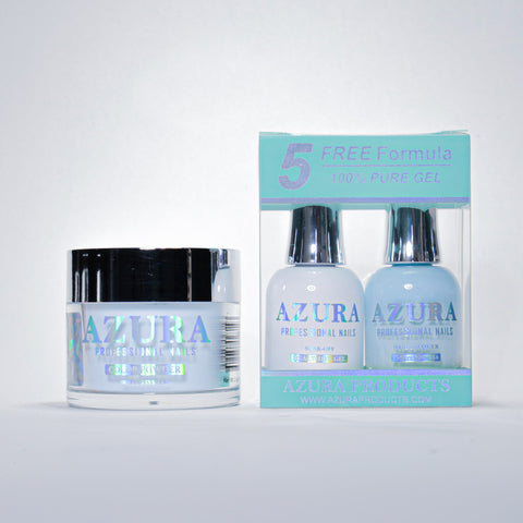 AZURA 3in1 - Gel Lacquer (0.5oz/15ml) & Dip Powder (2oz) - #045