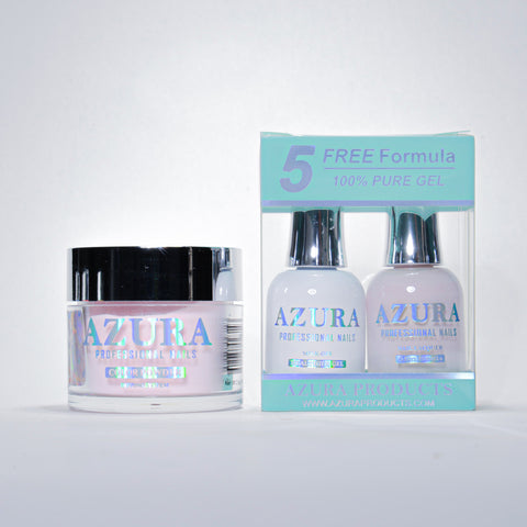 AZURA 3in1 - Gel Lacquer (0.5oz/15ml) & Dip Powder (2oz) - #046