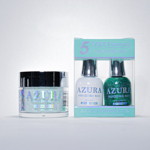 AZURA 3in1 - Gel Lacquer (0.5oz/15ml) & Dip Powder (2oz) - #052