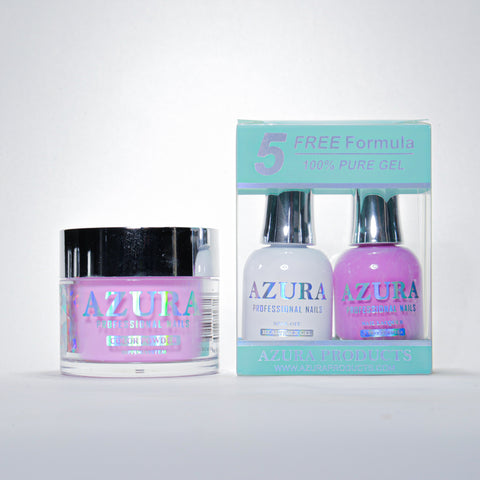 AZURA 3in1 - Gel Lacquer (0.5oz/15ml) & Dip Powder (2oz) - #063