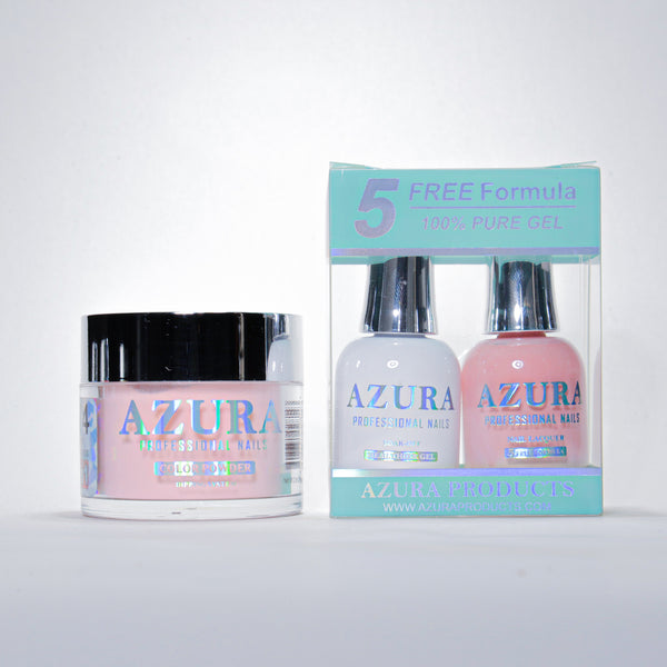 AZURA 3in1 - Gel Lacquer (0.5oz/15ml) & Dip Powder (2oz) - #074