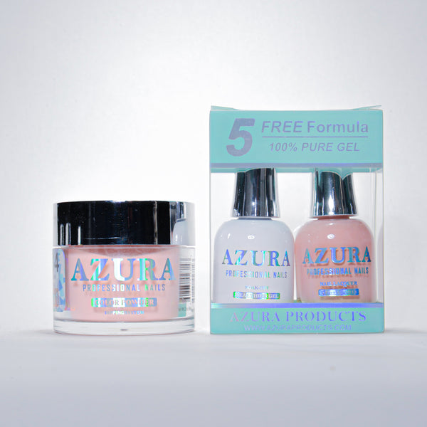 AZURA 3in1 - Gel Lacquer (0.5oz/15ml) & Dip Powder (2oz) - #084