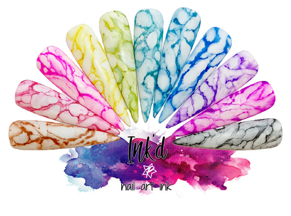 AZURA - Marble Ink Collection (24 colors) - (0.5/15ml)