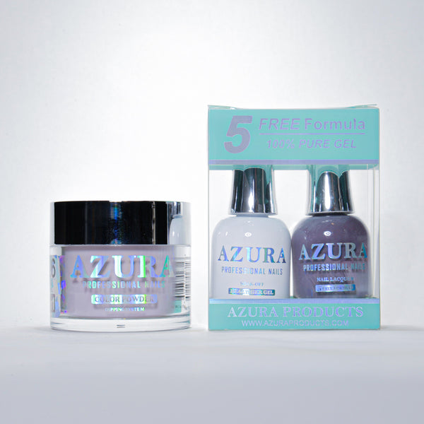 AZURA 3in1 - Gel Lacquer (0.5oz/15ml) & Dip Powder (2oz) - #126