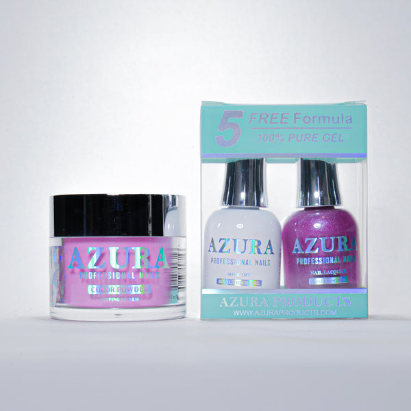AZURA 3in1 - Gel Lacquer (0.5oz/15ml) & Dip Powder (2oz) - #131