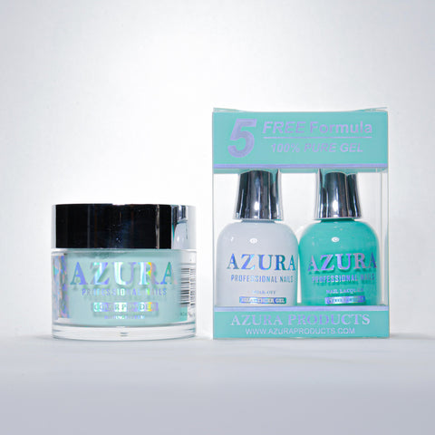 AZURA 3in1 - Gel Lacquer (0.5oz/15ml) & Dip Powder (2oz) - #141