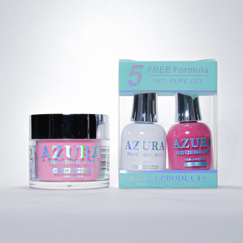 AZURA 3in1 - Gel Lacquer (0.5oz/15ml) & Dip Powder (2oz) - #142