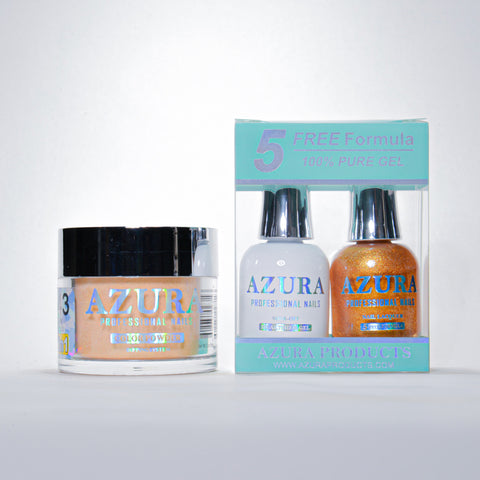 AZURA 3in1 - Gel Lacquer (0.5oz/15ml) & Dip Powder (2oz) - #143