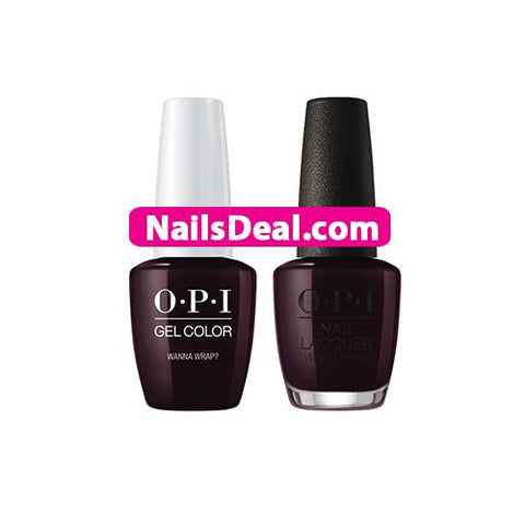 OPI Gel Duo – Wanna Wrap? – J06