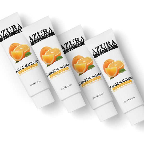 AZURA PediSpa Lotion - Orange Mandarin (3.3oz/100ml)
