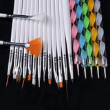 Dotting Painting & Brush Pen Tools (20pcs)
