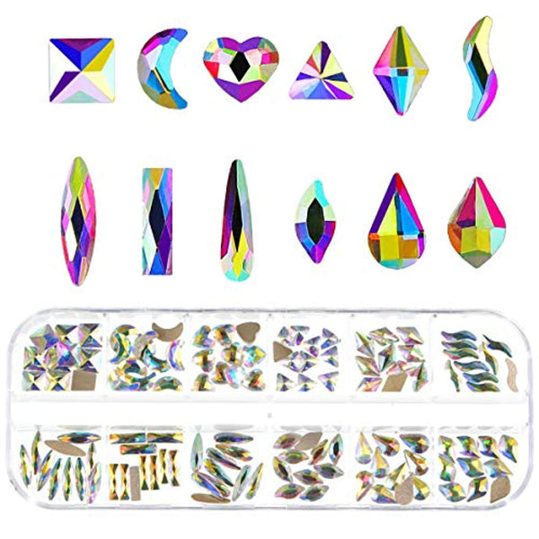 Crystal Rhinestones for 3D Nail Art (120pcs)
