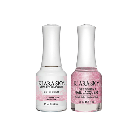 Kiara Sky Gel + Polish Duo - EYE ON THE PRIZE #584