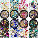 Diamonds Crystals Beads Gems Mixed (8 Boxes)