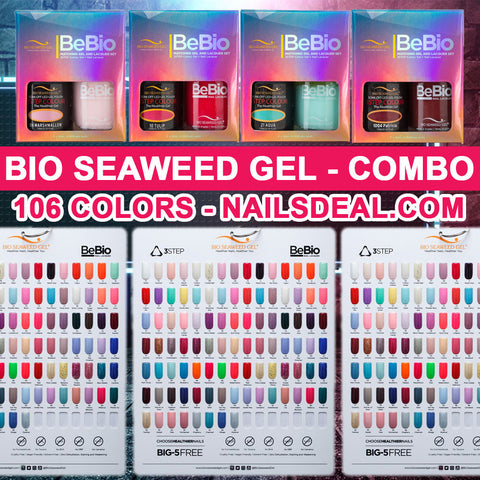 Bio Seaweed Gel Combo - (1 to 106) - Free color chart panel