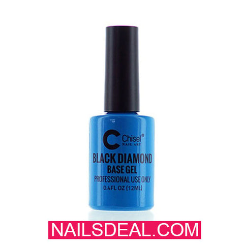 Chisel Black Diamond - Base Gel (0.4oz/15ml)