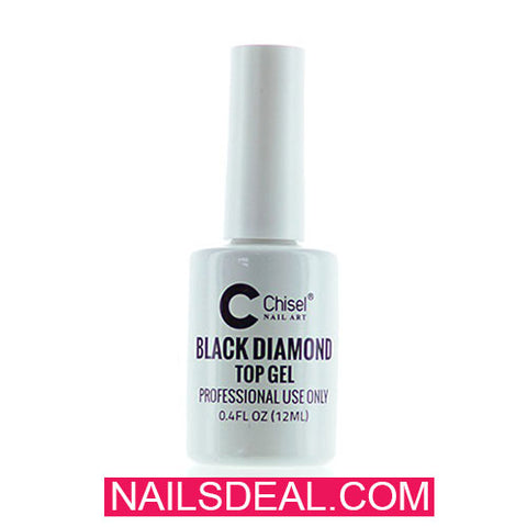 Chisel Black Diamond - Top Gel (0.4oz/15ml)