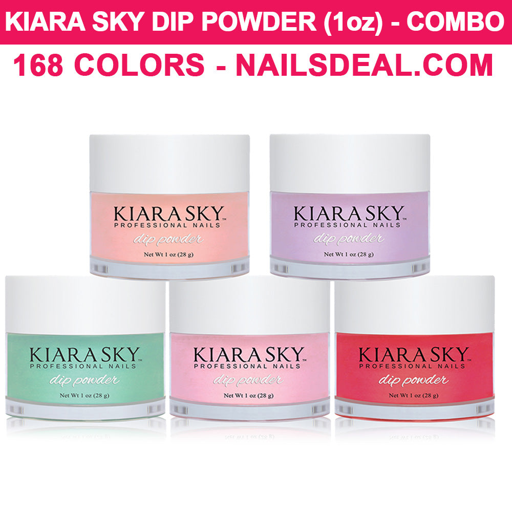 KIARA SKY Dip Powder (1oz) - COMBO 168 colors