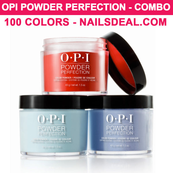 OPI Powder Perfection - COMBO 100 colors