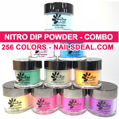 NITRO Dip Powder (2oz) - COMBO 256 colors