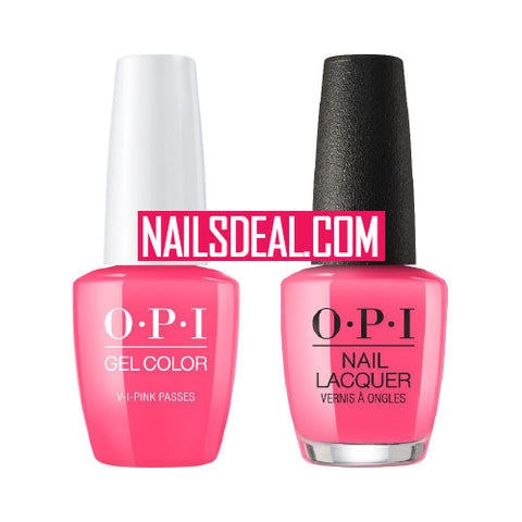 OPI Duo (Gel & Lacquer) - V-I-Pink Passes (N72)