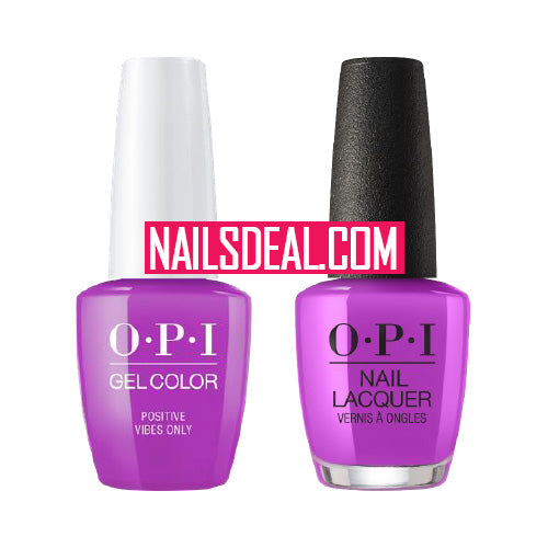 OPI Duo (Gel & Lacquer) - Positive Vibes Only (N73)